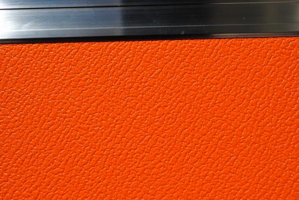 Ausbauplatte ca. 125 x 80 cm orange -orange