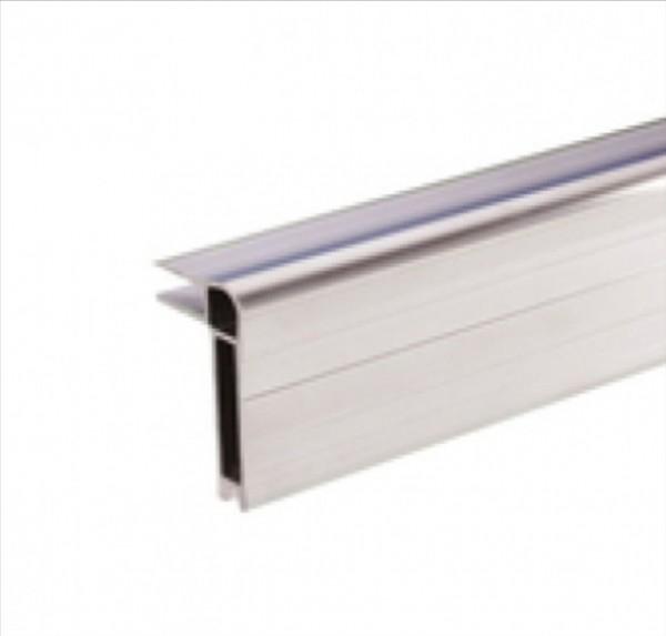 Q6504 Case Kofferdeckel Rahmen Alu, 53 hoch x 30mm, 2 Meter lang