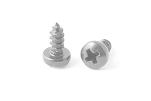 50 Edelstahl Linsenkopf-Blechschrauben 3,5x6,5 mm