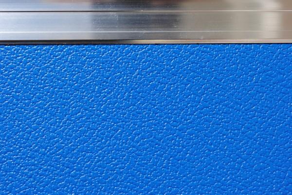Ausbauplatte ca. 125 x 80 cm grau - blau